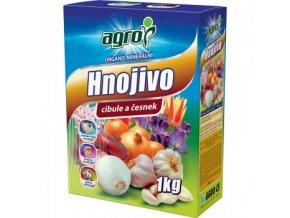 AGRO Organominerální hnojivo cibule a česnek 1 kg