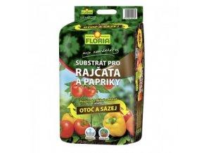 FLORIA Substrát na rajčata a papriky OTOČ A SÁZEJ 40 l