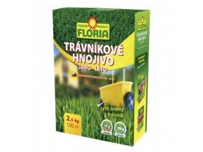 FLORIA Trávníkové hnojivo JARO - LÉTO 2,5 kg