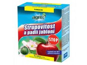 AGRO Strupovitost a padlí jabloní STOP 3 x 25 g