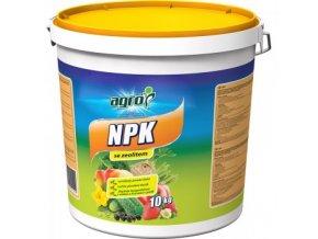 AGRO NPK 11-7-7 se zeolitem 10 kg v kbelíku