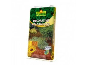 FLORIA Decorative ColorMulch ŽLUTÁ 70 L