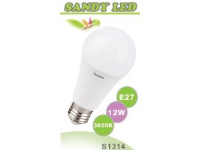 LED žárovka Sandy LED S1314 E27 12 W - 1055 lm