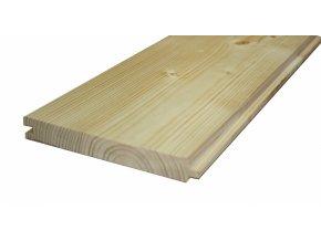 Palubky podlahové - kvalita A/B - smrk - 27,0  x 146 mm - délka 3000 mm