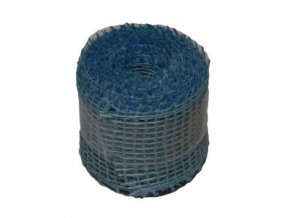 Jutová stuha 5 cm, 3 m - sv. modrá