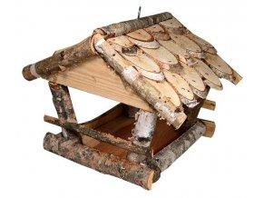 Krmítko pro ptactvo 35 x 30 x 22 cm, dřevo