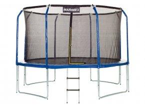 Trampolína Marimex 366 cm + ochranná síť + žebřík