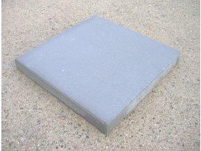 Dlažba plošná hladká Praktik 40 x 40 cm - šedá