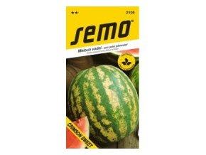 Meloun vodní - Crimson Sweet - oválný žíhaný 0,6 g