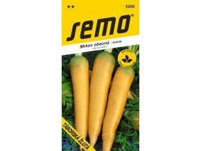 Mrkev krmná - Táborská pozdní žlutá 2,5 g