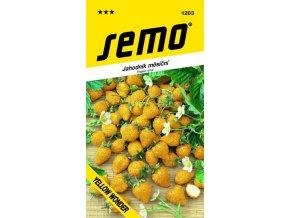 Jahodník měsíční - Yellow Wonder 0,1 g