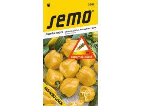 Paprika zeleninová pálivá - Habanero Lemon 15 s