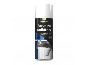 PRIMALEX sprej na radiátory bílá - 400 ml