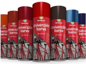 PRIMALEX sprej RAL 9005 černá lesk - 400 ml