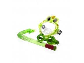 SPORTWELL Dětská sada - maska, šnorchl, plavecké brýle