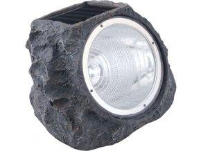 Solární světlo kámen EGLO 90494 - 4xLED/0,06W černá