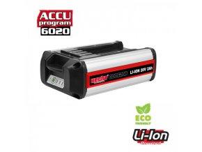 000620B - akumulátor 20V - 2Ah (program 6020)