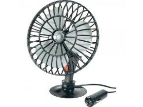 ALLRIDE Autoventilátor - 13 cm 12 V