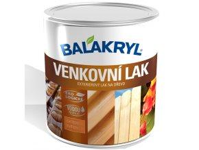 Balakryl VENKOVNÍ LAK - 0,7kg - lesk
