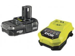 Ryobi RBC18 L13 sada 18 V lithium iontová baterie 1,3 Ah s nabíječkou