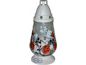 Hřbitovní lampa se svíčkou a obrázkem - LA 184 SL2
