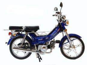 Moped CHAMP YX50 litá kola - modrá