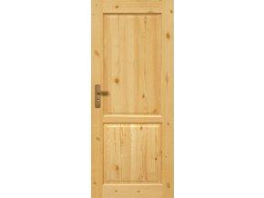 Interiérové dveře LUGANO Masiv - plné - 80 cm LAKOVANÉ