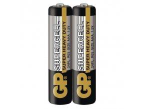 Zinkouhlíková baterie GP Supercell R03 (AAA) fólie