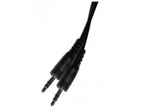JACK kabel 3,5mm stereo, vidlice - 3,5mm vidlice 3m