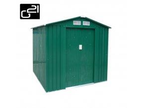 Zahradní domek na nářadí G21 - GAH 327 - 191 x 171 cm / zelený