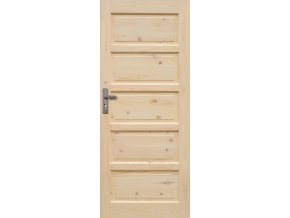 Interiérové dveře ILAWA Masiv - plné - 100 cm