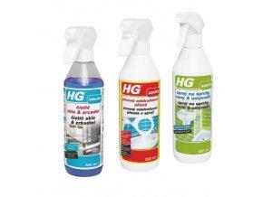HG čističe PROMO 1+2 ZDARMA (3x500ml)