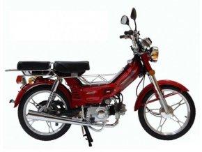 Moped CHAMP YX50 litá kola - červená