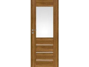 Interiérové dveře PREMIUM 2 - Dub Polský 3D
