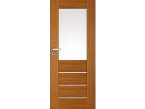 Interiérové dveře PREMIUM 2 - Dub zlatý ryf