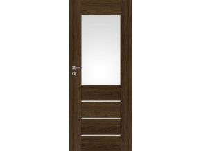 Interiérové dveře PREMIUM 2 - Jilm tabák
