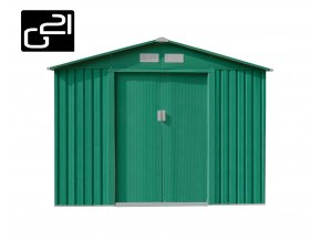 Zahradní domek na nářadí G21 - GAH 580 - 251 x 231 cm / zelený