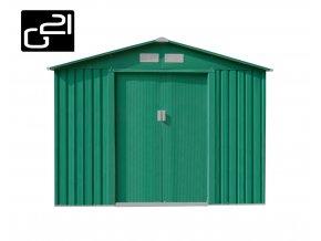 Zahradní domek na nářadí G21 - GAH 580 - 251x231x198 CM