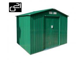 Zahradní domek na nářadí G21 - GAH 429 - 251 x 171 cm / zelený