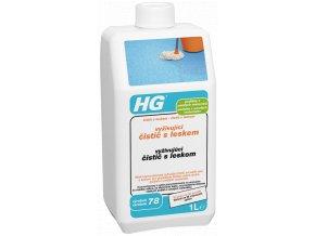 HG vyživující čistič s leskem pro podlahy z umělých materiálů