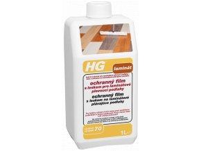 HG ochranný film s leskem pro laminátové plovoucí podlahy