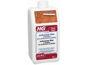HG ochranný film s leskem pro parketové podlahy