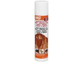 HG impregnace pro kůži – ochrana před vodou, olejem, tukem a špínou