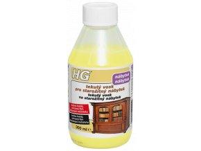 HG tekutý vosk pro starožitný nábytek – žlutý