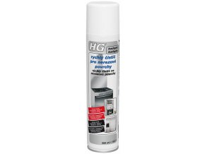 HG rychlý čistič pro nerezové povrchy
