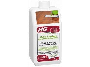 HG čistič s leskem pro parketové podlahy