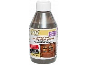 HG tekutý vosk pro starožitný nábytek – hnědý