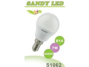 LED žárovka S1062 - E14 B45, 7 W, 4000 K