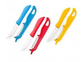 APETIT Sada nůž a škrabka, assort