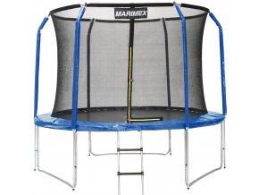 Trampolína Marimex 427 cm + ochranná síť + žebřík